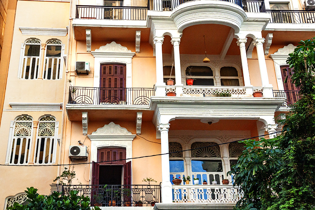 Beautiful building in Ras Beirut on 12-2-20--Beirut