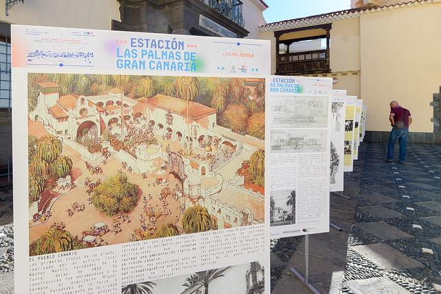 Exposición de Las Palmas de Gran Canaria como destino urbano