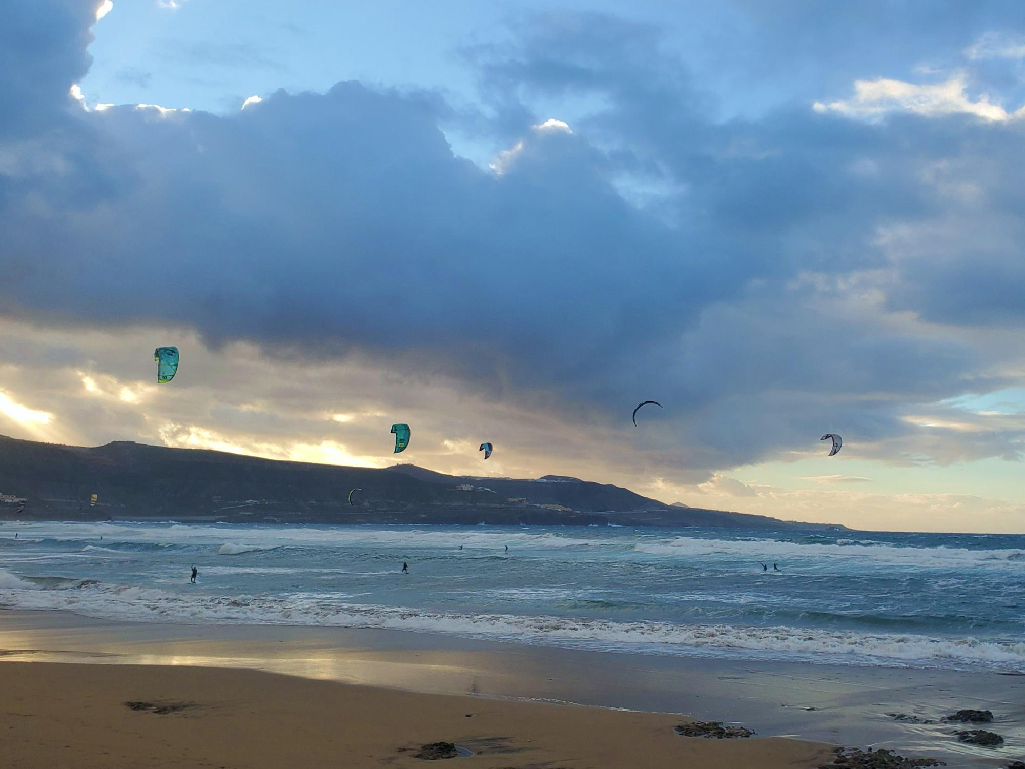 kitesurfing Las Palmas Canary Islands
