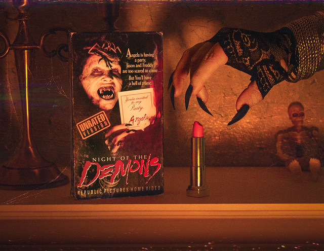 Night of the Demons VHS