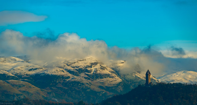 Wallace Monument Stirling 03/12/2020.