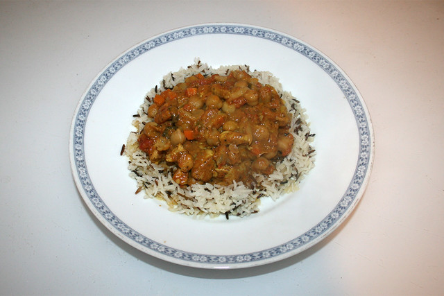 Chickpea Curry - Leftovers IV / Kichererbsen-Curry - Resteverbrauch IV