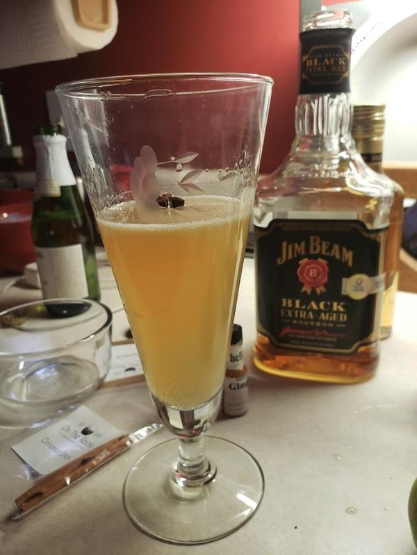 Kim Johnson Champagne Cocktail