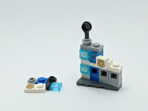 LEGO City Advent 2020 day 3 with spares