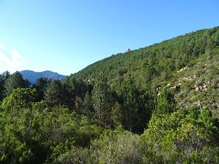 Le monolithe du canyon de Lora