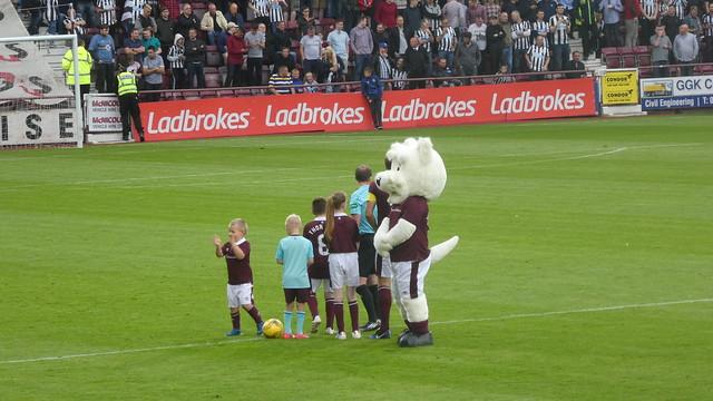 Hearts v Newcastle