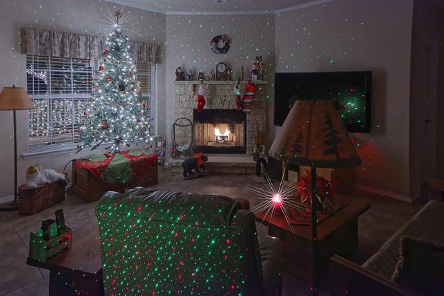 Livingroom at Christmas