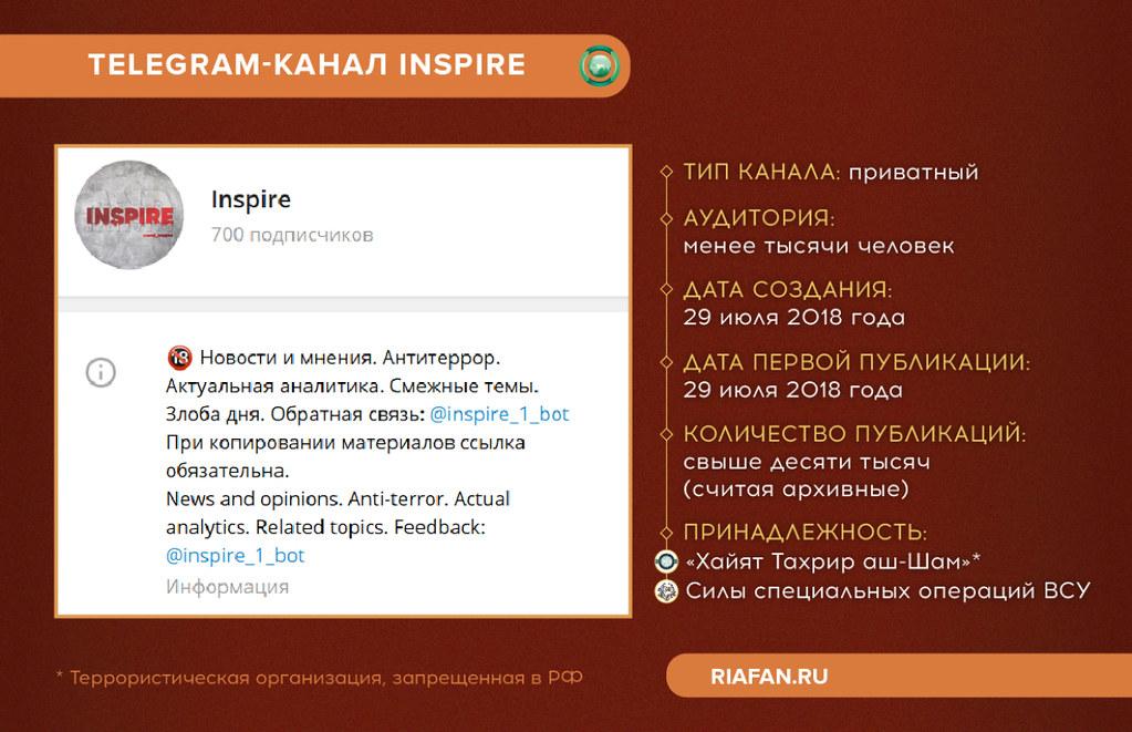 Chaîne Telegram Inspire