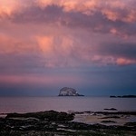 6. Märts 2020 - 18:53 - Sunset at Bass Rock. One of those 'got lucky' moments.