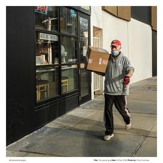 The parcel guy