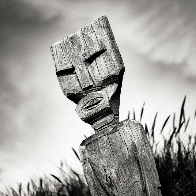 Wooden Figure #3