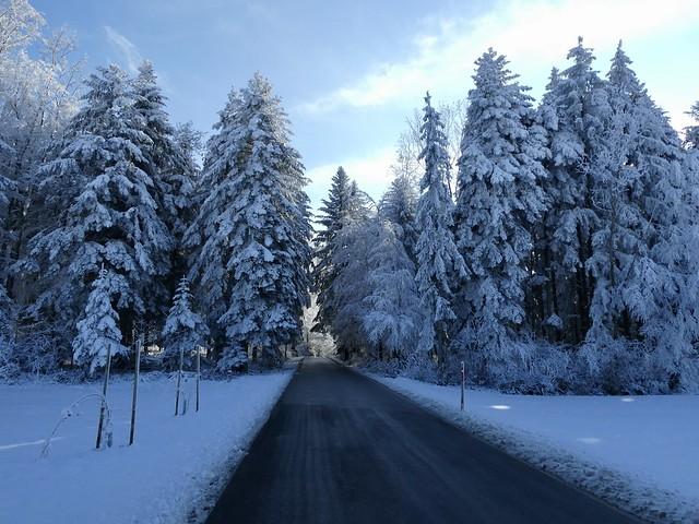winter wonderland Switzerland