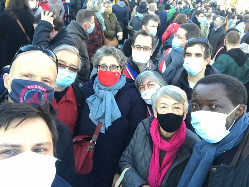 Contre la #LoiSecuriteGlobale (#Article24) - 28 novembre 2020
