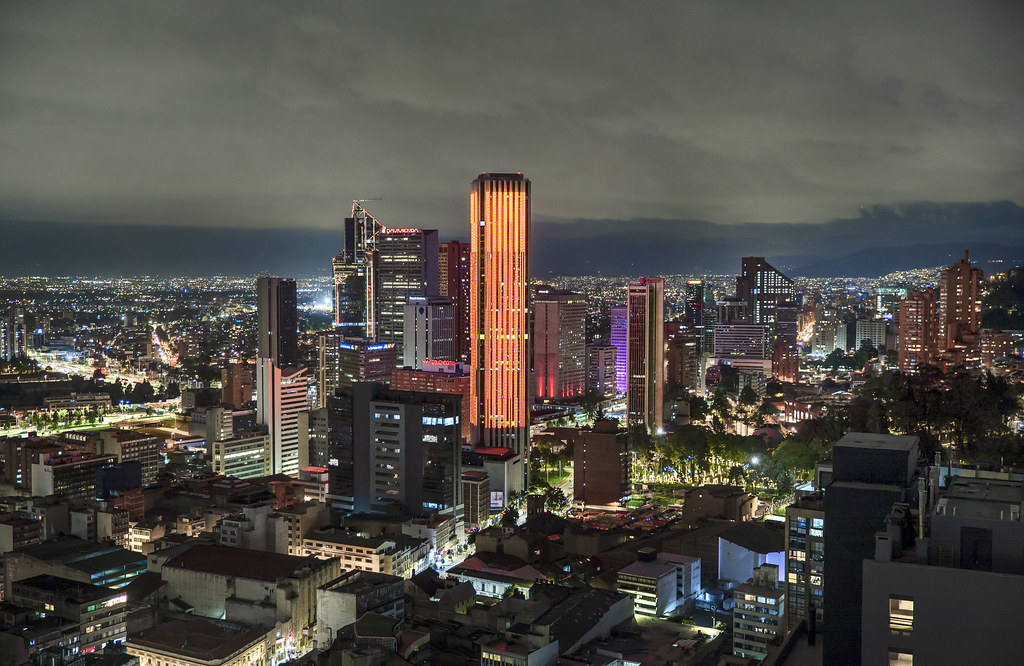 Edificio Colpatria Bogotá, Colombia