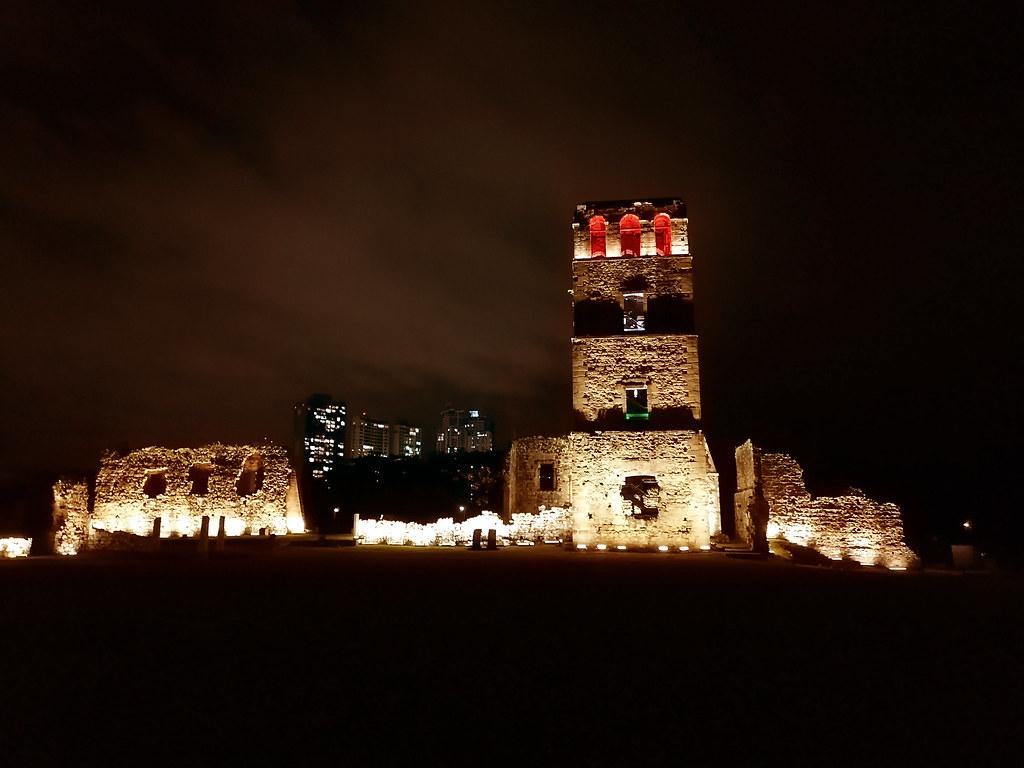 Esta es el Monumento Histórico Ruinas de Panamá la Vieja