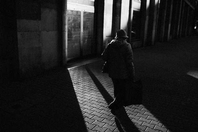 Among shadows