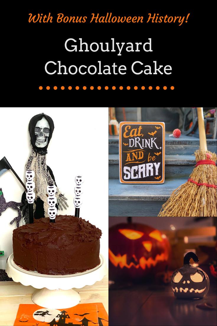 Ghoulyard Chocolate Cake - A Spookily Good Halloween Bake