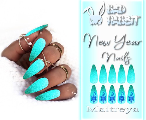 .:Bad Rabbit:. New Year Nails GIFT
