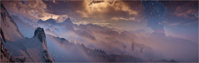 Horizon Zero Dawn - Ice Falls Fire Rises