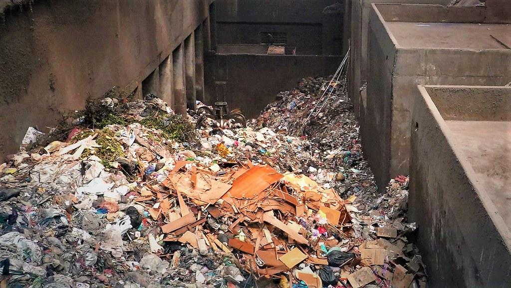 台灣2020年的一般廢棄物產生量續創新高,每人每年約產生417公斤的垃圾。資料照,孫文臨攝