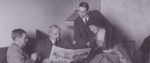 El almirante flotante, obra colectiva de 14 escritores como Agatha Christie,...