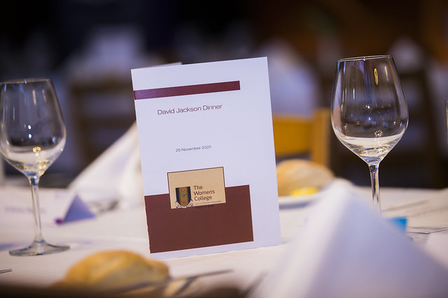 The David F Jackson Mooting Dinner 2020
