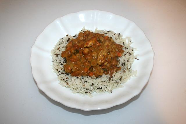 Chickpea Curry - Leftovers III / Kichererbsen-Curry - Resteverbrauch III