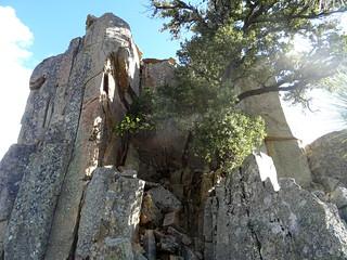 Monolithe de Lora : la face Nord