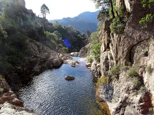 Le ruisseau de Lora et la pointe 1059