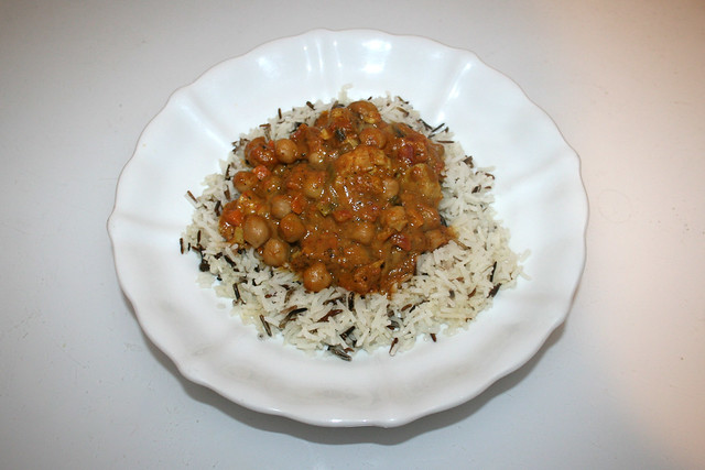 Chickpea Curry - Leftovers I / Kichererbsen-Curry - Resteverbrauch I