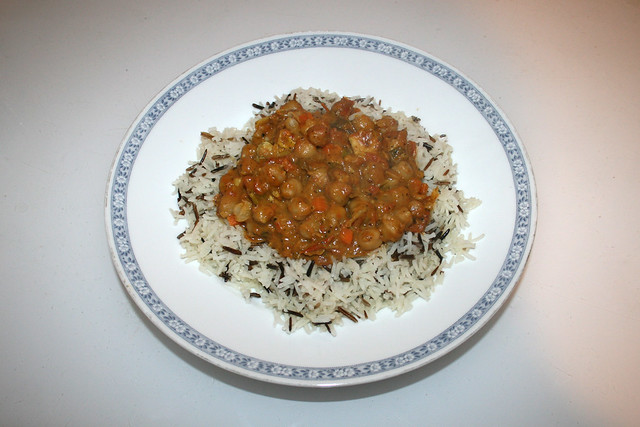Chickpea Curry - Leftovers II / Kichererbsen-Curry - Resteverbrauch II