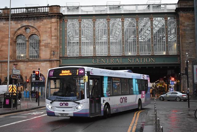 First Glasgow Alexander Dennis Enviro 300 67722