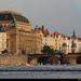 View across the Vltava, Prague, Czech Republic