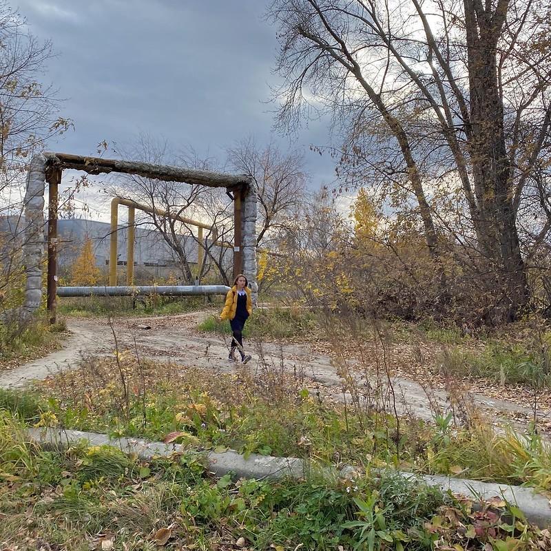 Поселок в ноябре