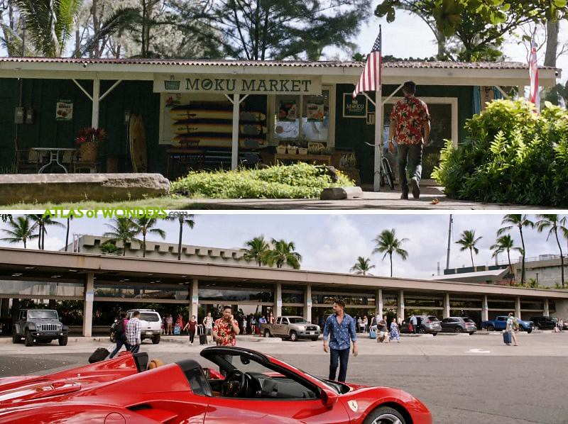Minimart and Oahu airport