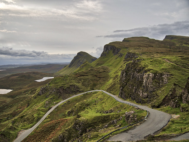View from the Quiraing on the Isle of Skye