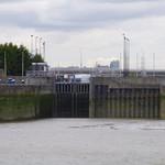 Gallions Point Marina Entrance, London E14.