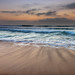 Merrillie posted a photo:Sunrise seascape with haze and soft clouds at Killcare Beach on the Central Coast, NSW, Australia.