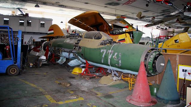 779 MiG-21SPS East German Air Force - Luftfahrt und Technik Museumspark - Merseburg May 2008