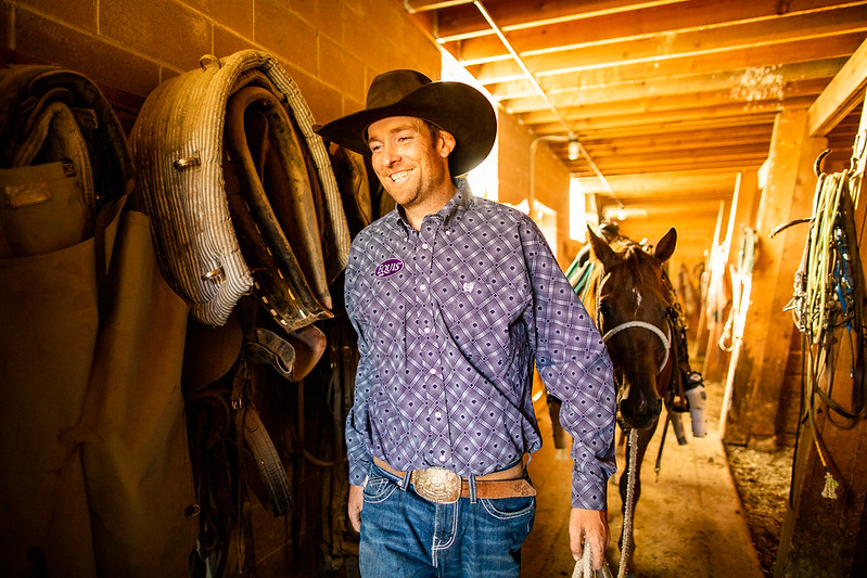 Rodeo pro talks performance horse nutrition