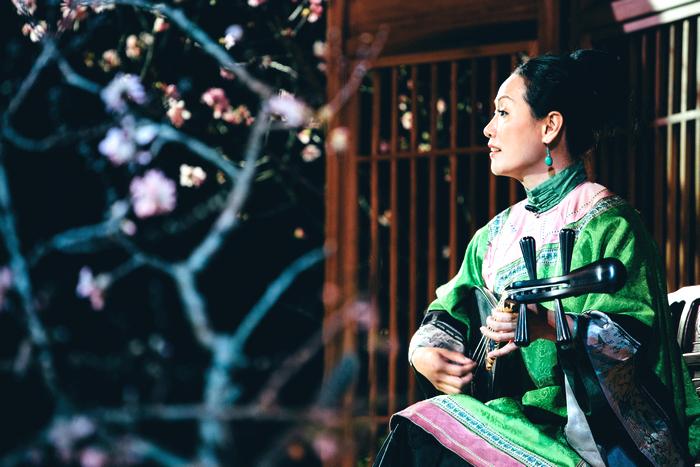 12月12日歡迎到宜蘭傳藝園區黃舉人宅聆聽心心南管樂坊《合院南管琵琶行》感恩音樂會。(