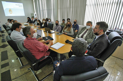 03.12.2020 Reunião de transição e coletiva de imprensa