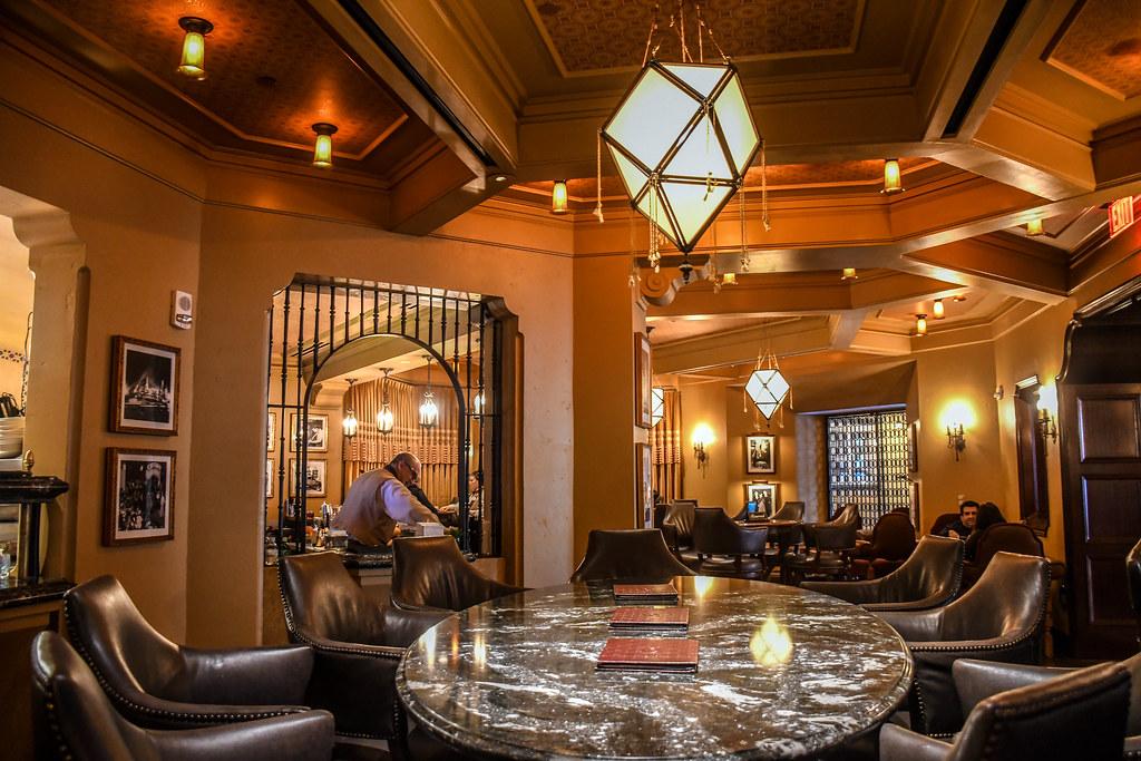 Carthay Circle Lounge inside DCA