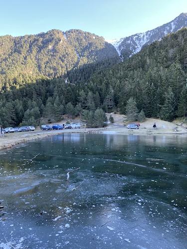 Lago de Arrés en el Valle de Arán