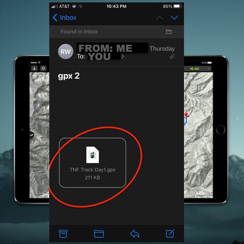 GPS KIT NAVIGATION APP STEP 8