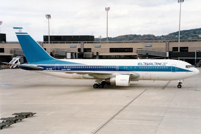EL AL | Boeing 767-200 | 4X-EAB | Zurich Kloten