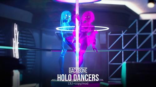 BackBone Holo Dancers