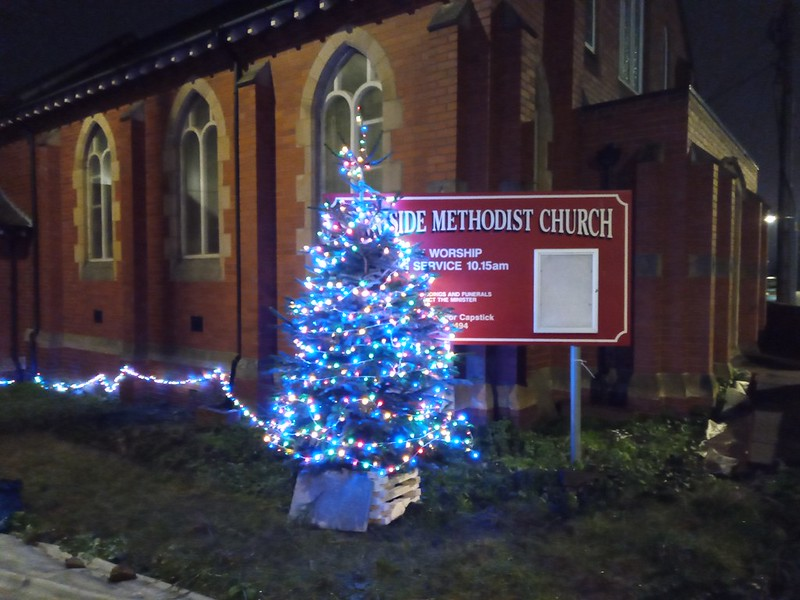 Sunniside Christmas tree Dec 20