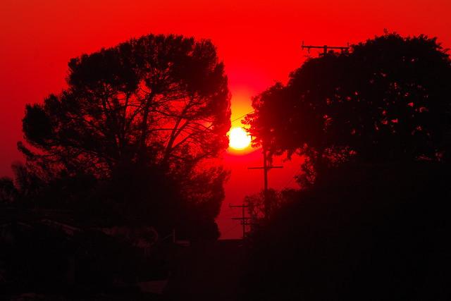Fire Raged California Sunrise  In Explore 12/5/2020