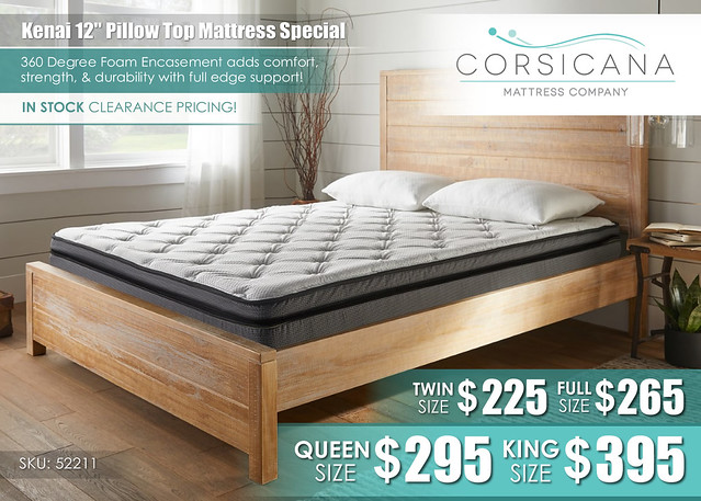 Kenai Pillow Top Corsicana Mattress_52211PR_Lifestyle